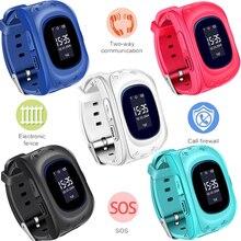 BANGWEI 2018 NEW Kids Smart Watch Pedometer Waterproof Baby LED LBS positioning Watch SIM Call For Gift Children SmartWatch+Box