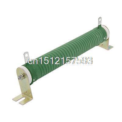 Ceramic Tube 100W 15 Ohm Wire Wound Resistor 100 Watts 500w ceramic tube resistors 75k ohm wire wound fixed tube resistance