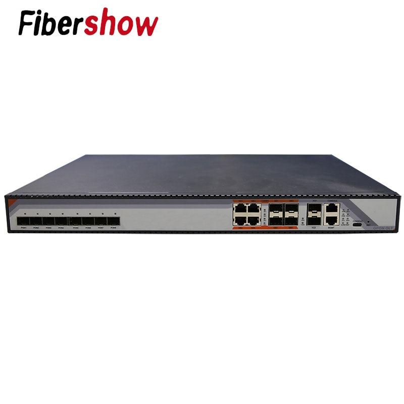 Ports GPON OLT 8PON 8 ports PON SFP OLT GPON sans module compatible ONT