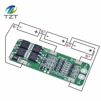 Защитная плата 3S 20A для зарядки литий-ионных батарей 18650, PCB BMS 12,6 В, защитный модуль для зарядки
