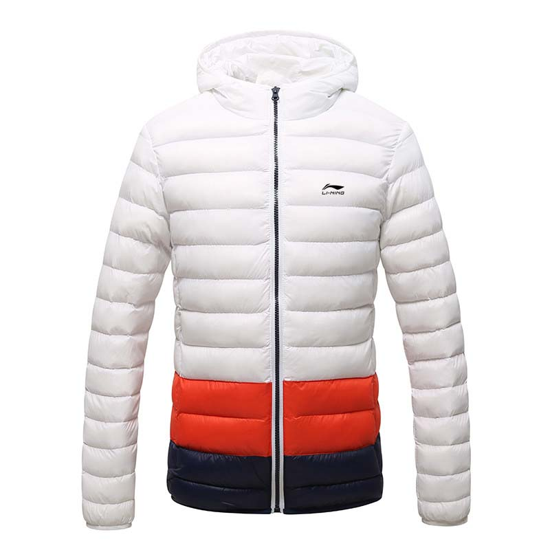 New Hooded design Men's Winter Jacket Warm Fashion Male Cotton Padded Down Coat slim fit Striped parka men china brand clothing