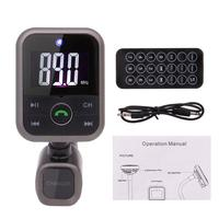Car Kit MP3 Player Wireless Bluetooth FM Transmitter Radio Adapter Car Charger USB SD Card Reader