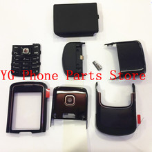 RTBESTOYZ Original Good quality For Nokia 8600 New Full Housing Cover Case With English Keypad +Logo стоимость