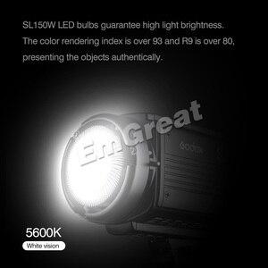 Image 3 - Видеосветильник Godox, светодиодный, 4 цвета, 5600K, 150 Вт, CRI, 93 +, Bowens Mount, с пультом дистанционного управления, для дверей амбара, в клетку, с 4 цветными фильтрами
