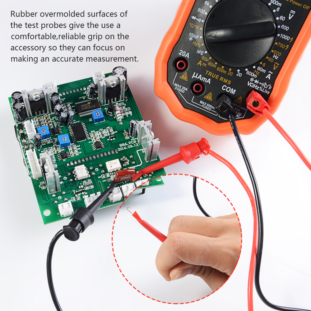 12 V per auto Tester elettronico a coccodrillo strumento diagnostico YINKUU
