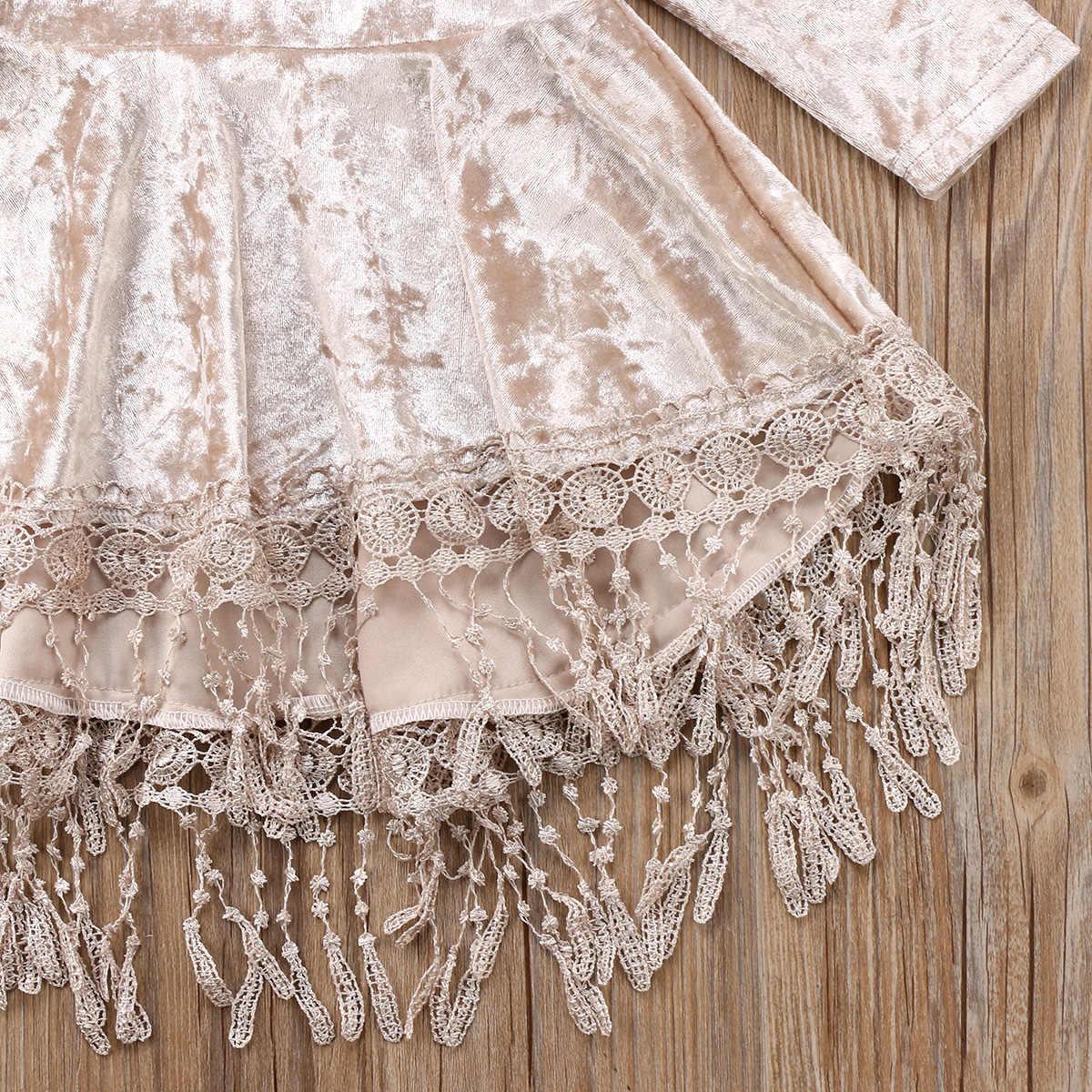 Bebê moda páscoa princesa bebê flor meninas vestido de veludo pageant festa vestido de dama de honra formal