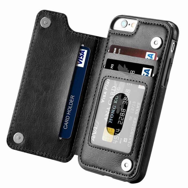 PU Leather Flip Wallet Case for iPhone 11/11 Pro/11 Pro Max 3