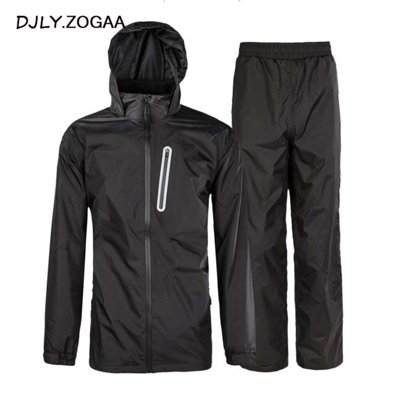 2019 New Waterproof Suit Outdoor High Quality Adult Split Rain Suit Set Unisex Jacket And Pants Suits