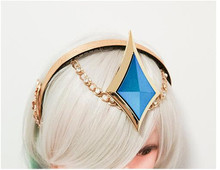 The Popular Game LOL Cosplay Costume Bright series The Lady of Luminosity Lux Headwear Custom Made