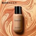 BANXEER 60 ml Fundação Fosco Profissional Corretivo Líquido Fundação Maquiagem de Longa Duração Completa Natural Creme Base de Maquiagem