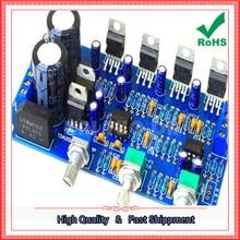 Envío Gratis 1 unids TDA2030A 2.1 Amplificador Subwoofer Tablero Terminado (D2A1)