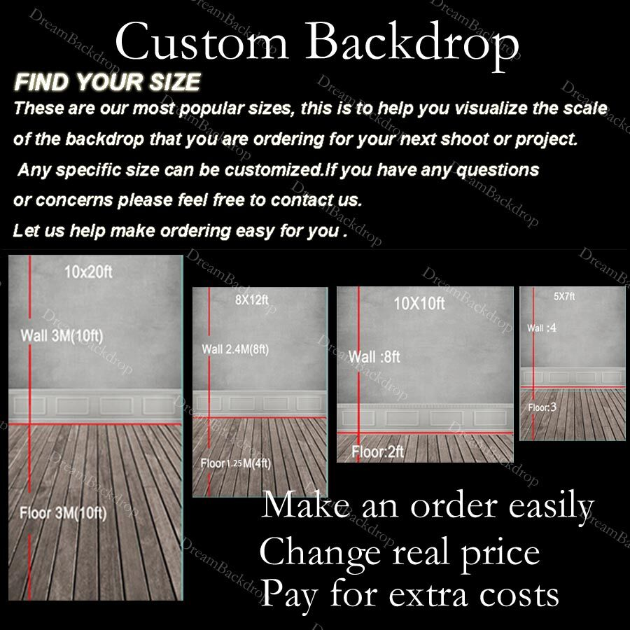 Photography Backdrop Printing Vinyl Banners Wedding Party Background
