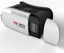 Googleกระดาษแข็ง3dภาพยนตร์แว่นตาvr boxรุ่นความจริงเสมือน3d galasses +บลูทูธควบคุมระยะไกล