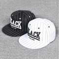 Fashion Display Letters Snapback Baseball Caps for Women Men Striped Hip Hop Street Hat Gorras Planas Adjustable Bone