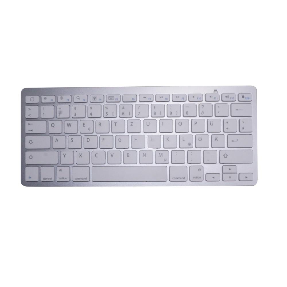 Deutsch tastatur bluetooth drahtlose tastatur für ipad pc notebook laptops für ios...