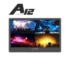"A12 Lilliput 12.5 ""Utra Fino IPS 4 K Transmissão Campo Monitor de 3G SDI full hd Monitor de Desktop 3840×2160 SDI HDMI para dslr"