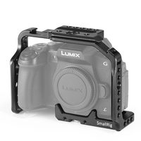 SmallRig g85 g80 Cage for Panasonic Lumix DMC G85/G80 Camera Cage with Side NATO Rails And Two Cold Shoe 1950