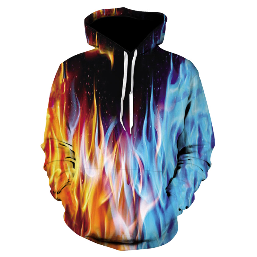 Casual men's hooded sports jacket Autumn and winter thin hooded fashion sports tops Unisex street cool single layer hooded coat