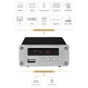 Image 4 - PJ.MIAOLAI SP3306AL APE Lossless Music Player HiFi Fever Digital Amplifier Optical Coaxial Digital Decoder Output Amplifier
