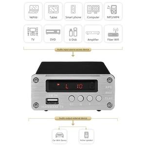 Image 4 - PJ. MIAOLAI SP3306AL APE lecteur de musique sans perte HiFi fièvre amplificateur numérique optique Coaxial décodeur numérique amplificateur de sortie