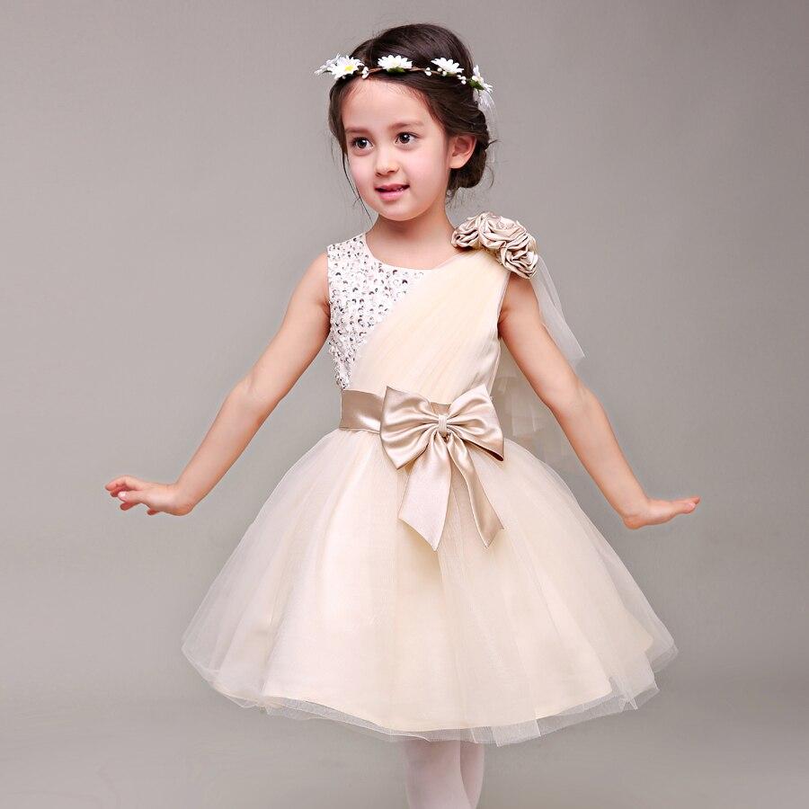 Anlencool 2018 The new children\'s dress girls princess dress wedding ...