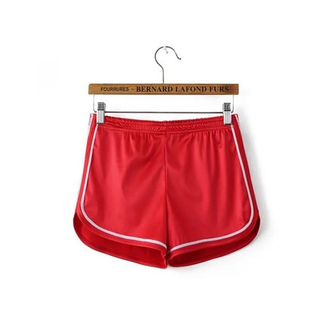 HTB1YjI6MVXXXXXnXpXXq6xXFXXXv - Glossy Shorts Slim Sexy Short Cotton Elastic High Waist Shorts For Women PTC 181