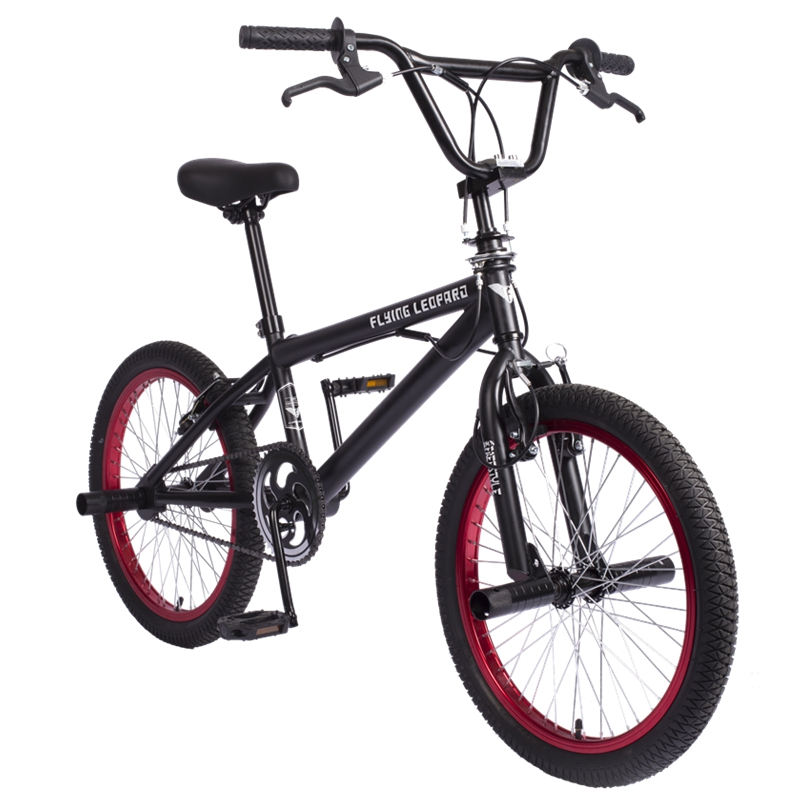 BMX 20 Inch BMX bike steel frame Performance Bike purple/red tire bike for show Stunt Acrobatic Bike rear Fancy street bicycle цена