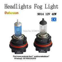 2pc x Headlight PH11 9014 Halogen bulb motor light 12V 40W Clear white and Super white for Suzuki motorcycle(China)