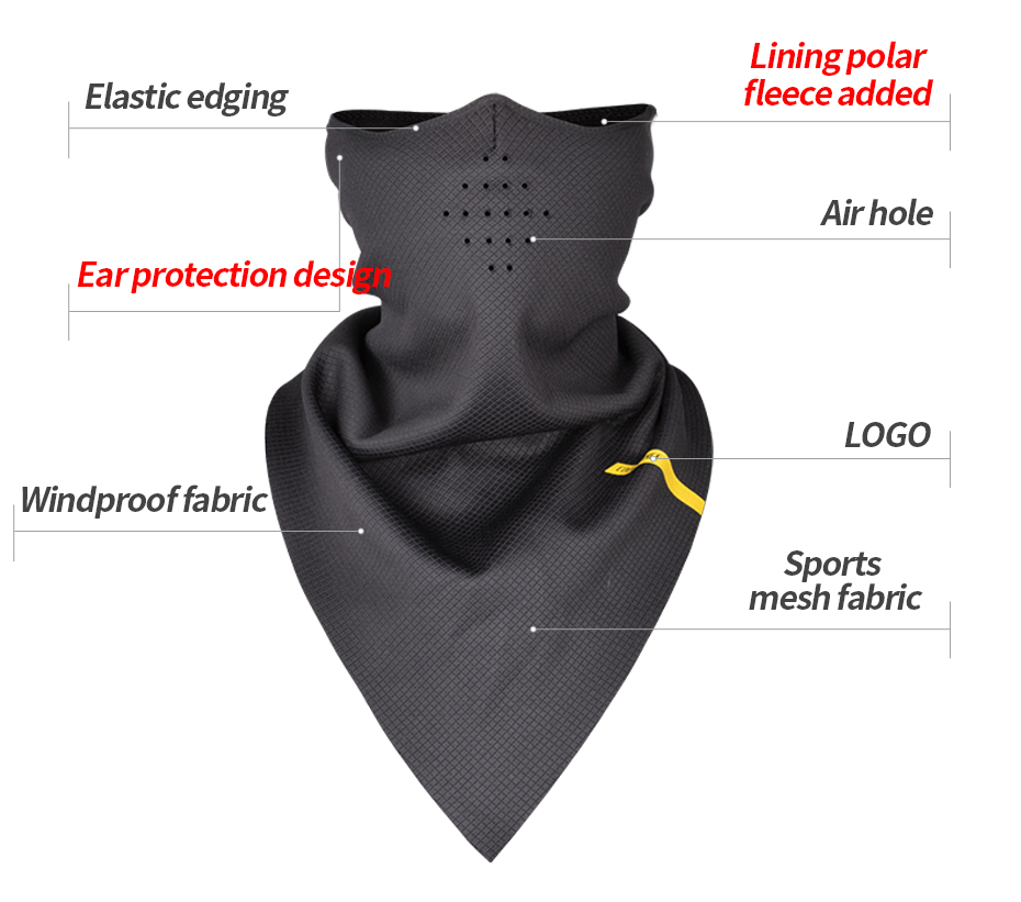 HTB1YjIPXPDuK1Rjy1zjq6zraFXag CoolChange Bicycle Mask Winter Warm Face Mask Elastic Cycling Triangle Mask Polar Fleece Breathable Ear Protector Bike Facemask