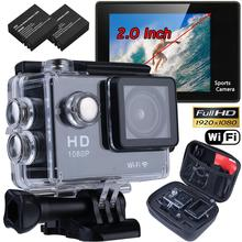 New High Quality WIFI Waterproof HD 4K 1080P 12MP Sports Video Camera Action DV Camcorder For Christmas Gift Smart CCTV