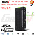 2016 new Multi-function Car Jump Starter V16 12800mAh 12/16V/19V Peak Power Bank Smart Clamp LED Light Dual USB DC Output