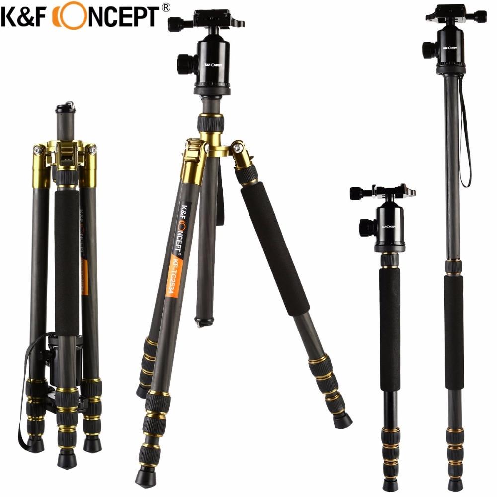 K&F CONCEPT Professional Portativ Karbon Fiber Kamera Tripoddan - Kamera və foto - Fotoqrafiya 2