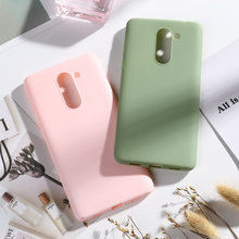 Candy Color Cases SFor Huawei Mate 9 Lite Soft Silicone Phone Cover On For Huawei Honor 6x 2016 GR5 2017 Honor Play 6X Covers(China)