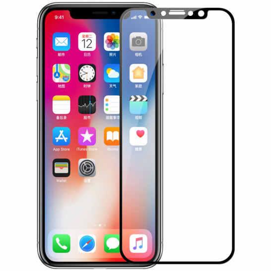 3D كامل غطاء الزجاج المقسى لفون X XS XR ماكس الزجاج واقي للشاشة