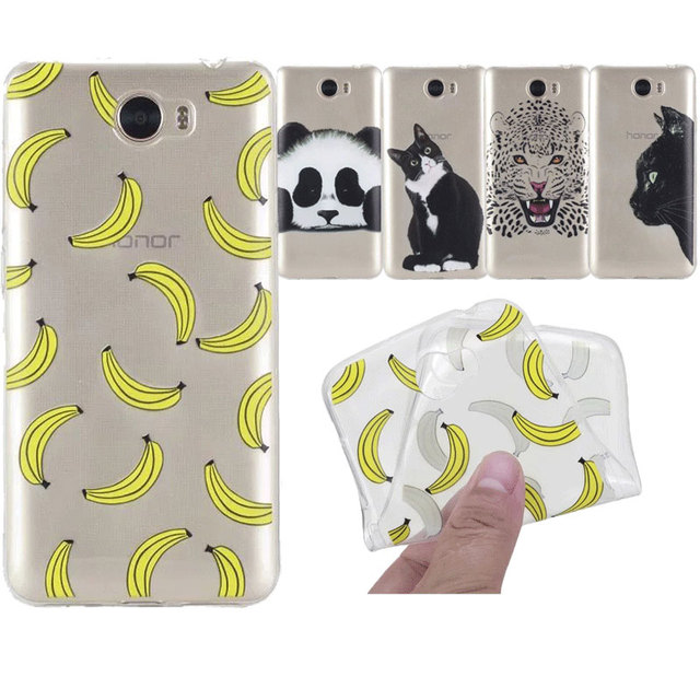 coque huawei y6 ii chat