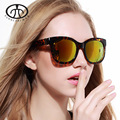 2015 Hot New European and American Classic Fashion Women Sunglasses Trend Personality Eyewear Bright Reflective Sun Glasses
