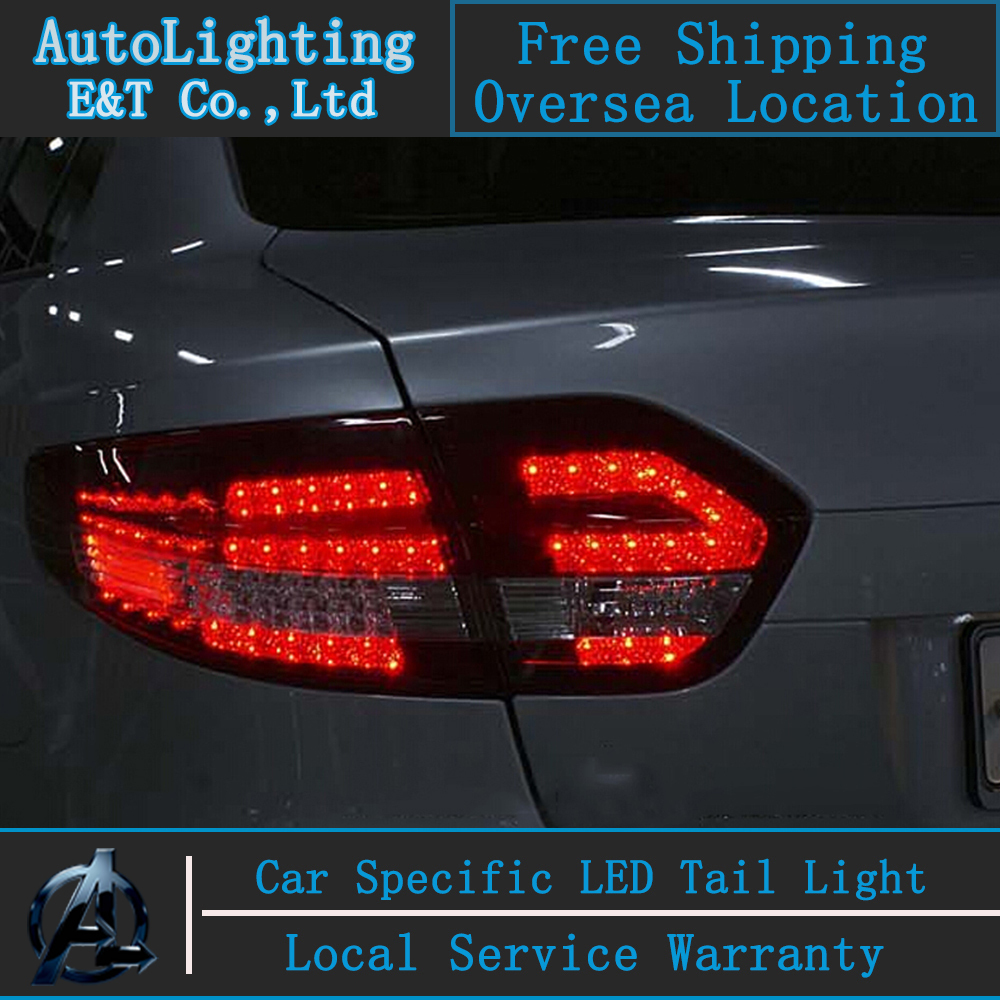 Car Styling For Renault Fluence SM3 led tail lights 2011-2013 Fluence Tail Lights rear trunk lamp cover drl+signal+brake+reverse buff sport series water 2 gloves