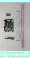 Free shipping Universal HDMI VGA 2AV 50PIN TTL LVDS Controller Board Module Monitor Kit for Raspberry PI LCD AT070TN90 tn92 94 P
