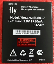 1750mAh new high quality original BL8017 BL 8017 battery For FLY BL8017 phone free shipping цена