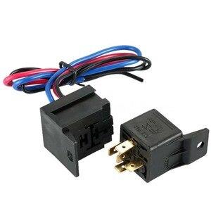 Image 5 - 12V araba kontak anahtarı için Push Button Start basma düğmesi motor çalıştırma basma düğmesi 3 geçiş yarış paneli Dropshipping