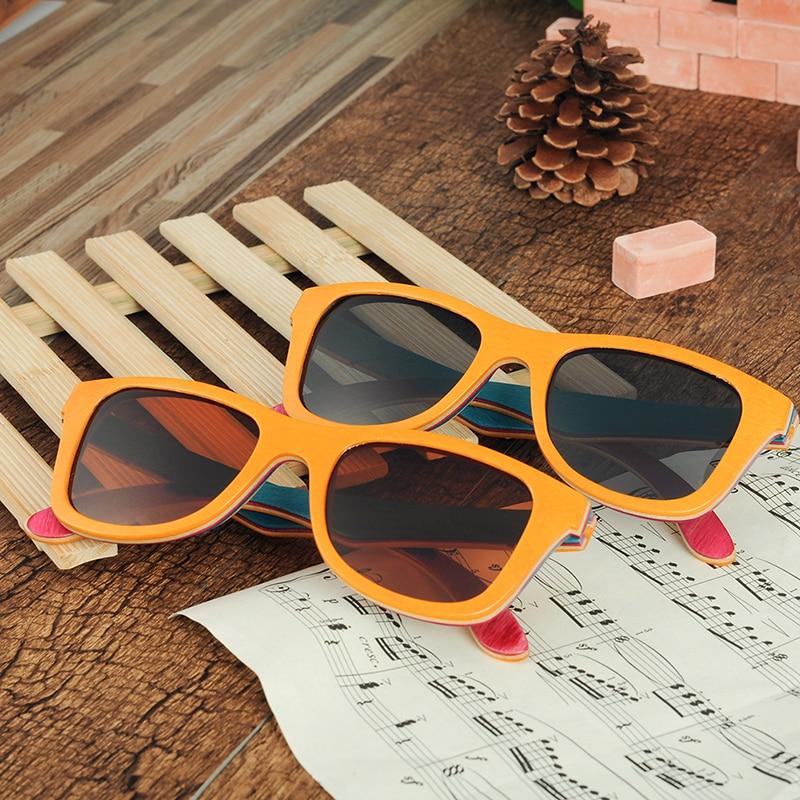 24d4e4bccb BOBO BIRD Brand 100% Nature Colour Wood Polarized Sunglasses Women Handmade  Sun Glasses for Men Vintage Oculos C AG012-in Sunglasses from Apparel ...