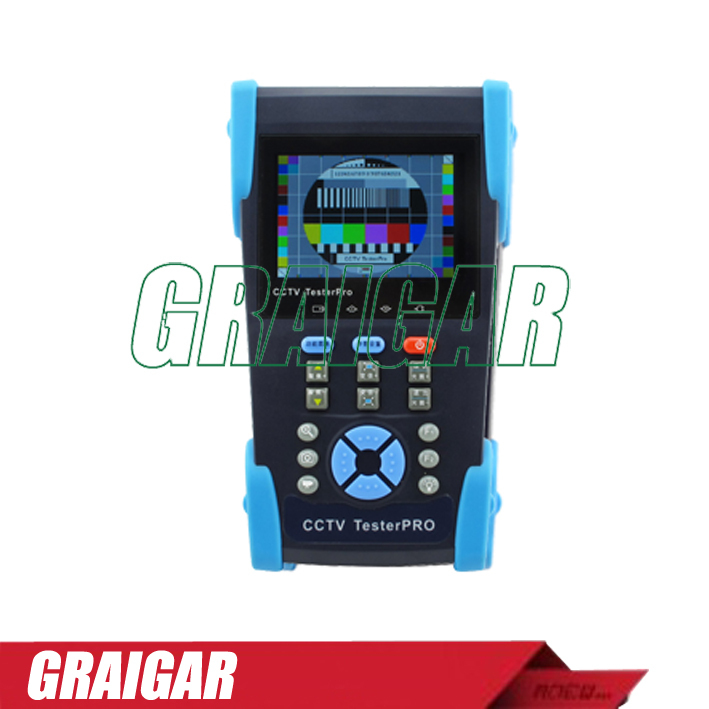 HVT-2611 DC 12V 3.5 TFT LCD CCTV Tester with PTZ PING Optical Power Meter Wholesale