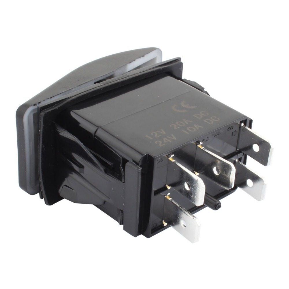 5Pin On/Off SPST Toggle Fog Switch Refit for LED Work Light-in Wire ...