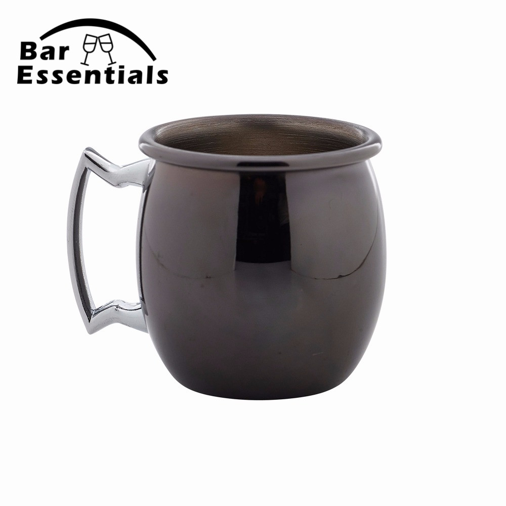 Perfect Smooth Moscow Mule Mug Drum- copper plated <font><b>Beer</b></font> <font><b>Cup</b></font> Coffee <font><b>Cup</b></font> Stainless Steel-copper Plated <font><b>cup</b></font> image