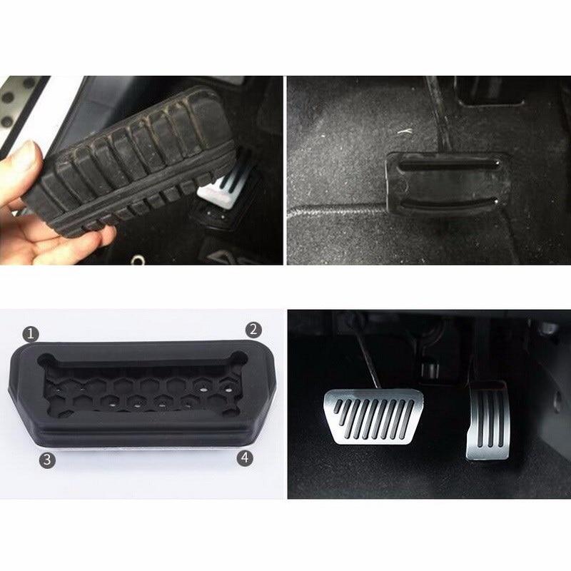 Etiquetas engomadas de la cubierta del pedal del freno / gas - Accesorios de interior de coche - foto 6