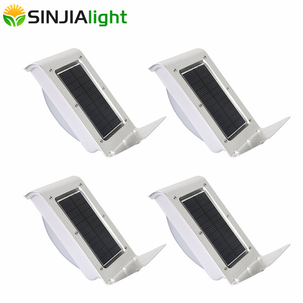 16 LEDs Solar Light Outdoor Waterproof IP65 Motion Sensor Wall Light Solar Lamp Security Garden Path Stair Yard Night Lights in Solar Lamps from Lights Lighting