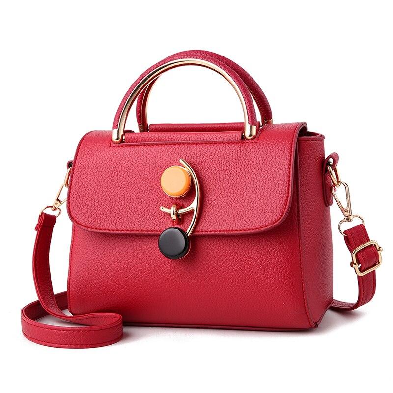 Free Shipping New Fashion Brand women's shoulder bag ladies crossbody bag female handbag top leather bag large capacity hot sale