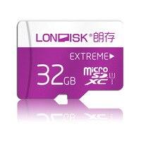 Londiskマイクロsdカード32ギガバイトクラス10メモリカードuhs-1 microsd用電