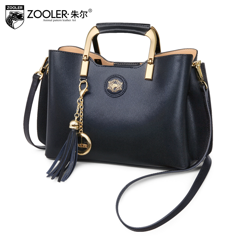 Very limited woman leather bag elegant style ZOOLER 2018 genuine leather bags handbag women famous brand bolsa feminina # C-152 sales zooler brand genuine leather bag shoulder bags handbag luxury top women bag trapeze 2018 new bolsa feminina b115