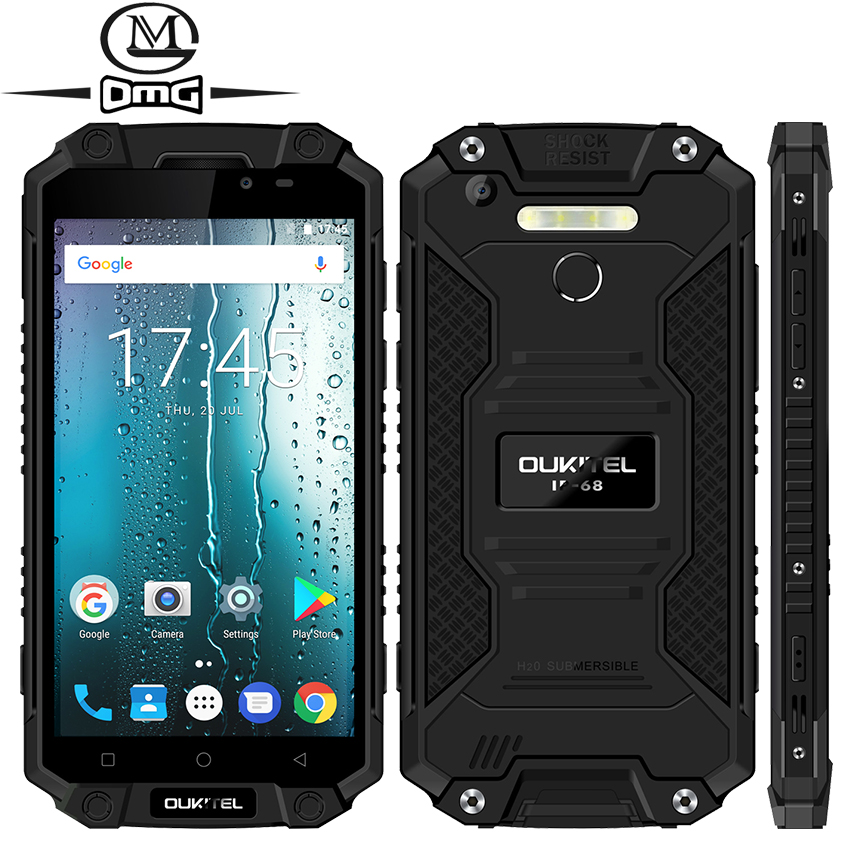 Oukitel K10000 Max IP68 Waterproof shockproof 10000mAh mobile phone Android 7 0 MTK6753 Octa Core 3G